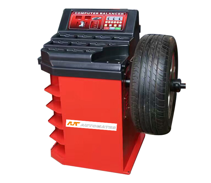 Semi-automatic car balancing machine